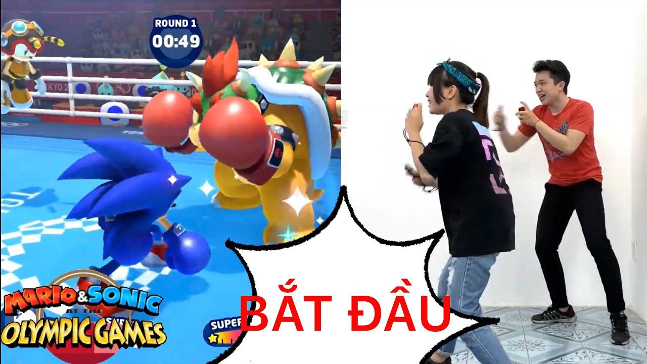 Cùng nShop chơi game Mario & Sonic at the Olympic Games Tokyo 2020 trên máy Nintendo Switch