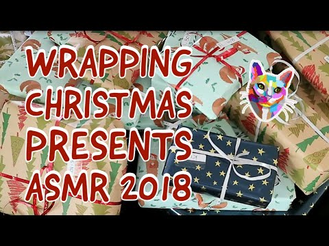 Gift Wrapping Christmas Presents 2018