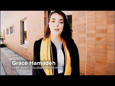 A Tip of the Cap: Grace Hamadeh, Alief Early College High School