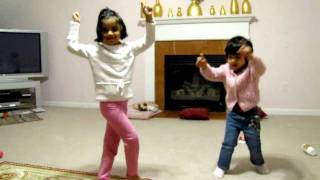 Sophie Jain and Juhie Jain dance to Left Leg Aage Aage