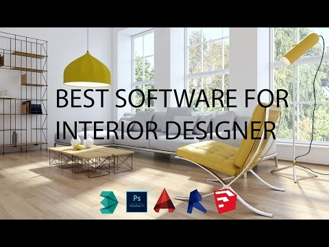 BEST SOFTWARE FOR INTERIOR DESIGNER