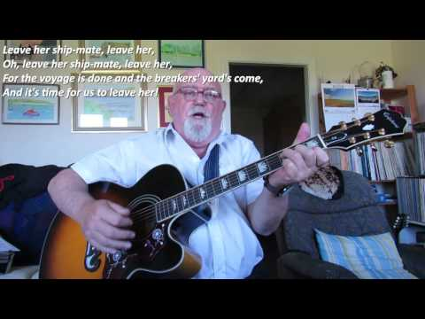 Guitar: Leave Her Shipmate, Leave Her (Including lyrics and chords)