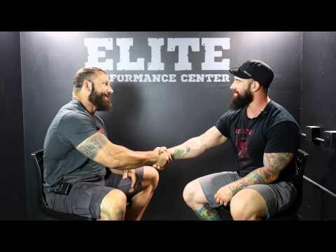 Joe Daniels Pt1 - Kettlebells & Crazy Eye's pre-training Interview with Duffin