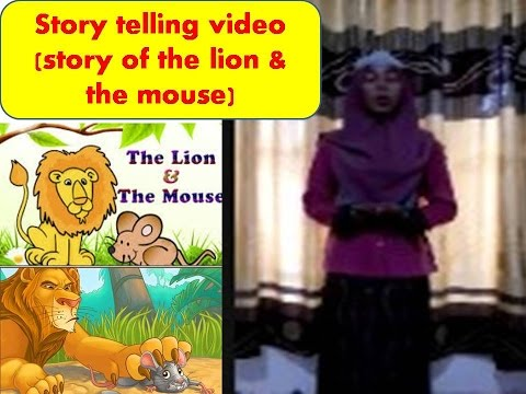Story Telling Bahasa Inggris Story Of The Lion The Mouse Youtube