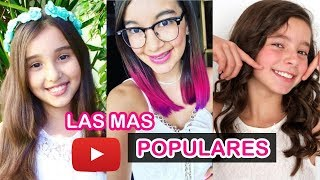 LAS 10 NIÑAS MAS FAMOSAS DE YOUTUBE 2017 | Gibby :) Lulu99 Amara Que Linda  Karol Sevilla