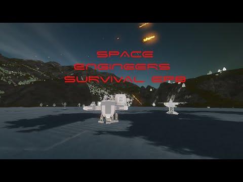 SPACE ENGINEER SURVIVAL EPISODE 8 (building mining platforms)