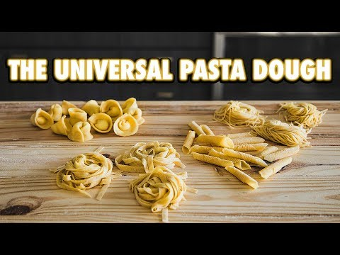 How to Make Classic Homemade Pasta 4 ways