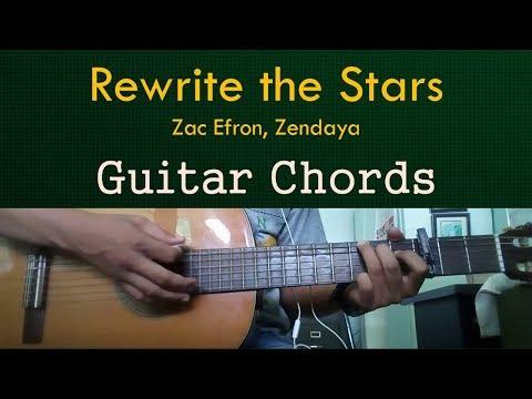 Rewrite the Stars Zac Efron Zendaya Guitar Cover
