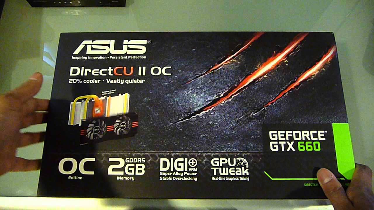 Asus geforce gtx 660 directcu ii top review introduction.