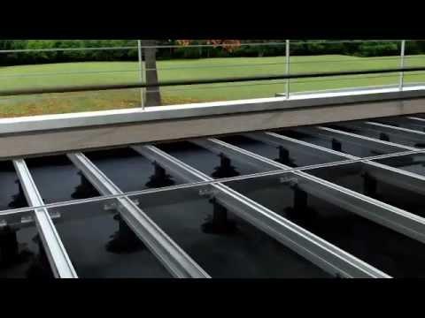 Sistema twinson de pavimento de exterior espa ol youtube - Pavimento exterior barato ...