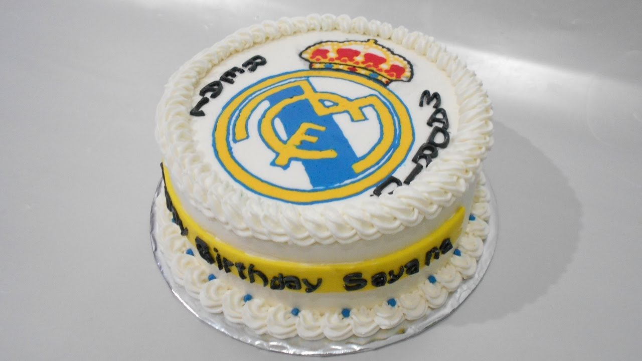 Real Madrid Cake Designs - YouTube