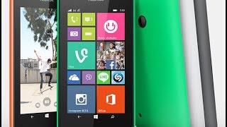Review & Tips : NOKIA LUMIA 530 - 535 Windows Phone 8.1 - Dutch and some ENG - 2014