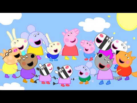 Peppa Pig Official Channel | Peppa Pig Jumps to the Sky