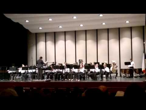 RBMS Concert I Band - Spring 2014 - A Song for Peace