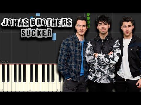 Jonas Brothers - Sucker - [Piano Tutorial] (Synthesia) (Download MIDI + PDF Scores)