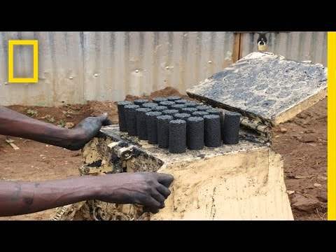 Sanga Moses: Using Waste to Fuel Africa | Nat Geo Live