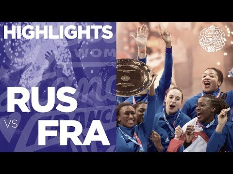 Russia Vs France | Final | Highlights | Women's EHF EURO 2018