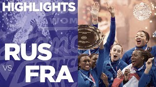Russia vs France | Final | Highlights | Women's EHF EURO 2018