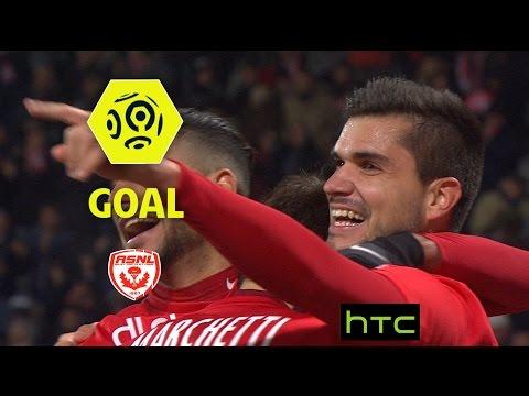 Goal Loïc PUYO (63') / AS Nancy Lorraine - Angers SCO (2-0)/ 2016-17