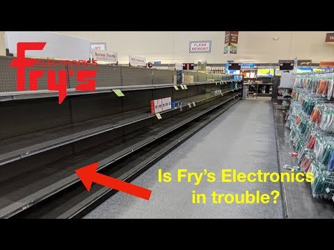 Is Fry's Electronics In Trouble? I'll Compare Indiana To Las Vegas. Inventory?