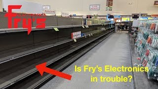 The fry's electronics in indiana is a wasteland! what does las vegas look like? i'll show you both.