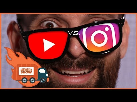Can YouTube Steal Instagram Stories' Thunder? - The Kinda Funny Morning Show 11.30.17