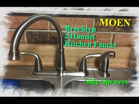 how-to-install-a-moen-kitchen-faucet-with-side-sprayer