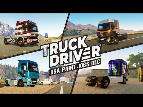 Truck Driver - USA Paint Jobs DLC Trailer