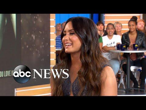 Demi Lovato talks Harvey devastation, Girl Up initiative on 'GMA'