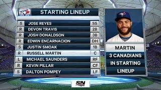 Canadians make MLB history for Blue Jays