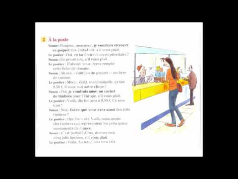 Dialogue En Français Nº:02 - Demander des articles -  A la poste