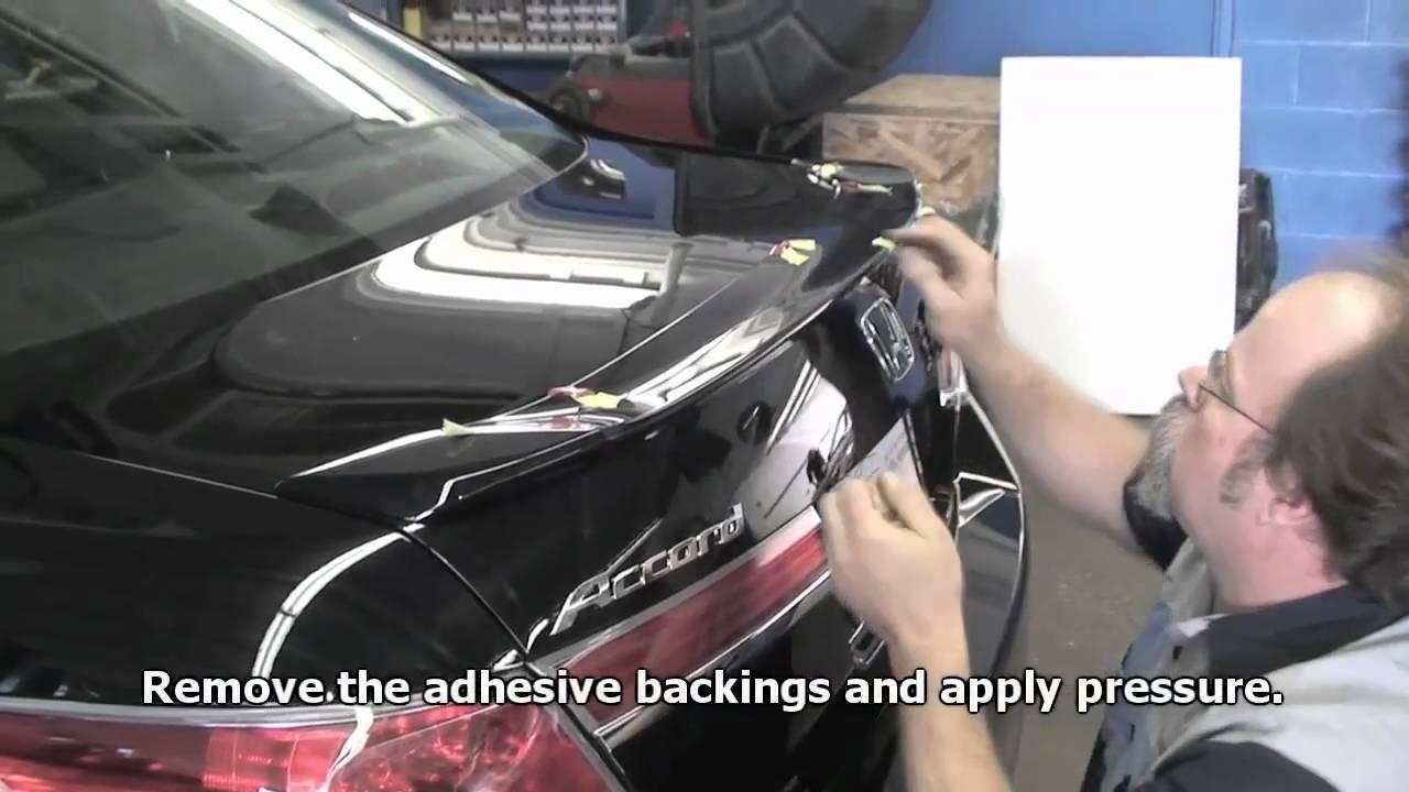 Episode #193 - Honda Accord Deck Lid Spoiler (Updated ...