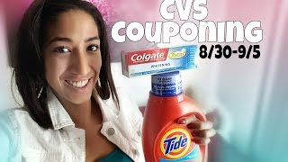 CVS Couponing Trip:  Aug 30-Sept 5, 2015