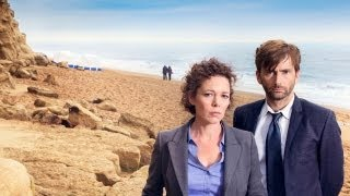 BROADCHURCH with DAVID TENNANT, OLIVIA COLMAN & ARTHUR DARVILL - Premieres Wed AUG 7 BBC AMERICA