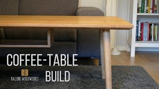 Designing and Making a COFFEE-TABLE! (Scandinavian Design)