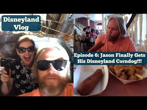Episode 6: Jason Finally Gets His Disneyland Corndog!!!