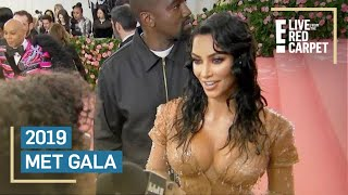 Kim Kardashian Channels Wet California Girl at Met Gala | E! Red Carpet & Award Shows Video