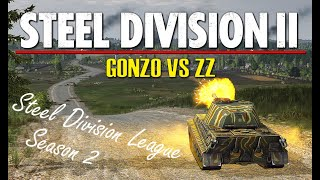 Gonzo vs ZZ! Steel Division 2 League, S2 Playoffs, Semi Finals - Game 1 (Sianno, 1v1)