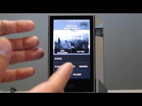 Astell&Kern AK240: Quick Peak At Its User Interface (UI) - Head-Fi TV