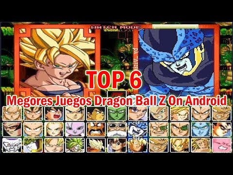 Top 6 Dragon Ball Z Game Apk On Android