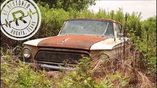 Will It Run After 50 Years? | Forgotten 1962 American AMC Rambler | Buried & Locked Up | RESTORED