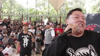 Ariel Vs Baser | Octavos | Club De La Pelea | 2da Gold Battle | 2018