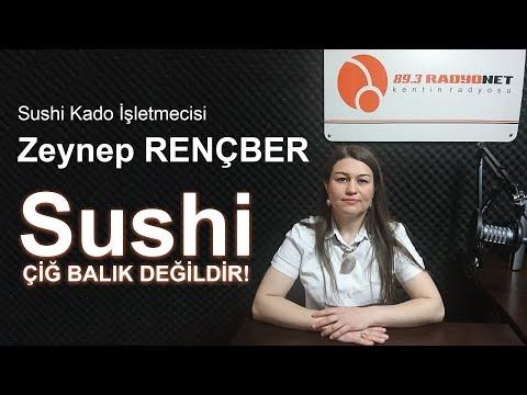 Sushi Kado İşletmecisi Zeynep RENÇBER