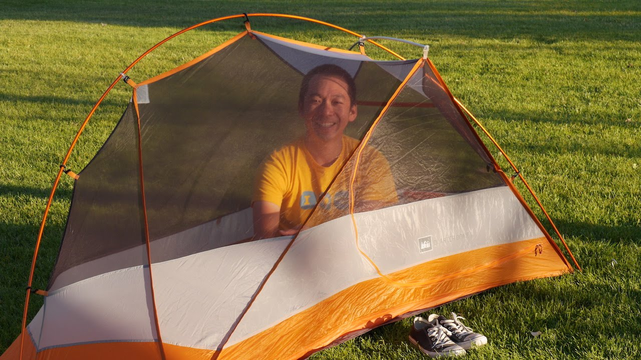 Gear Review REI Quarter Dome 1 Tent - Milestone Rides & Gear Review: REI Quarter Dome 1 Tent - Milestone Rides - YouTube