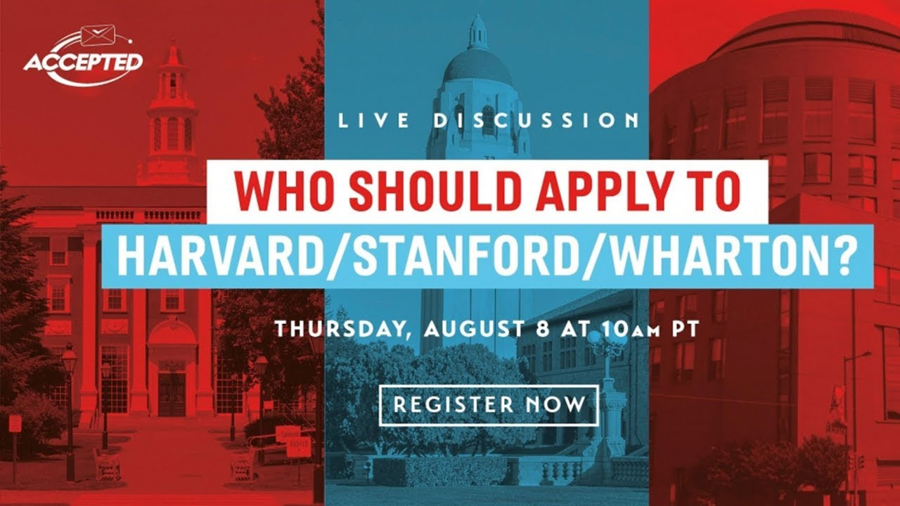 Who Should Apply To Harvard / Stanford / Wharton?   Poets&Quants