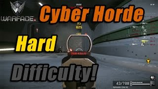 Warface PC | Zombie Cyborg Horde Mode | Hard Difficulty | Cyborg Horde Mode Gameplay!