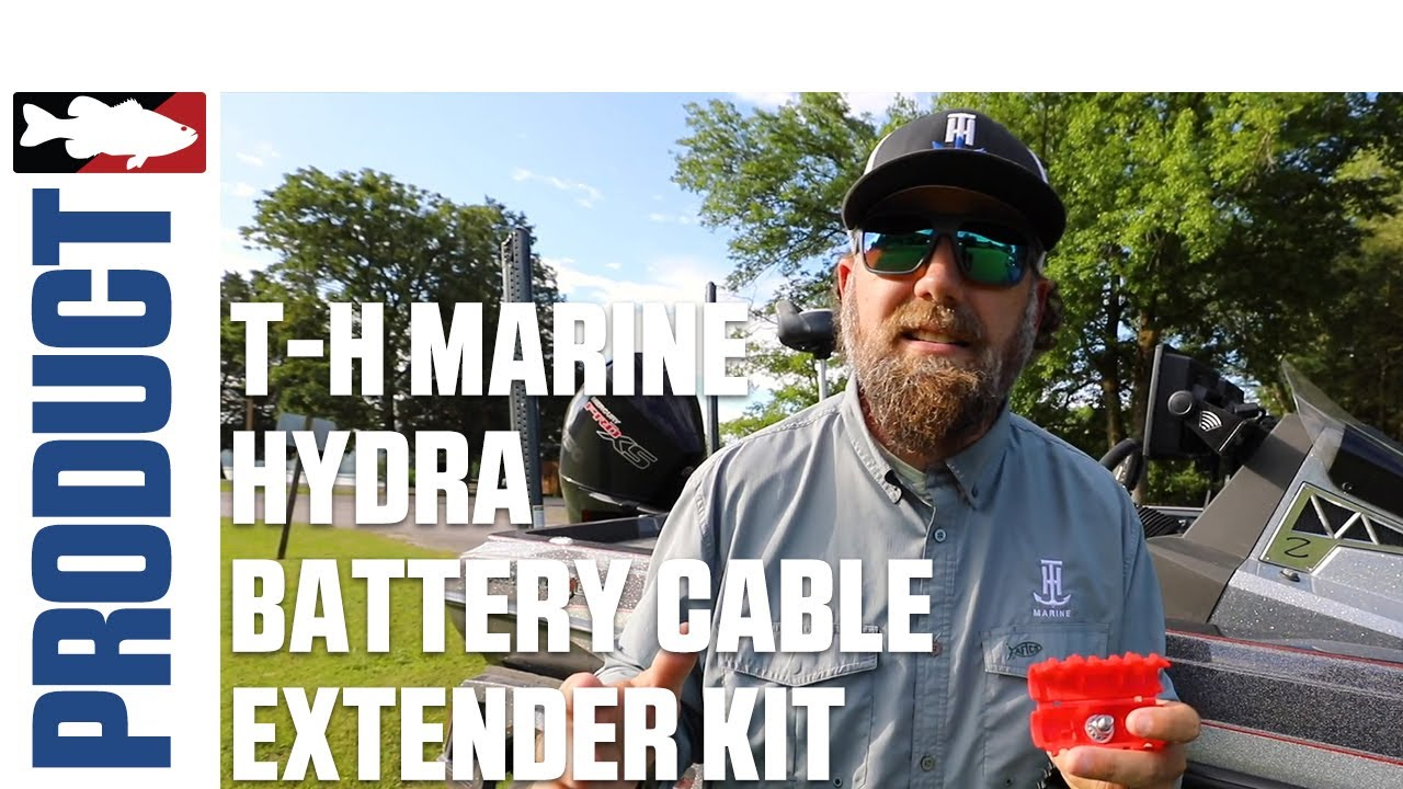 T-H Marine HYDRA Battery Cable Extender Kit with Luke Dunkin | ICAST 2020