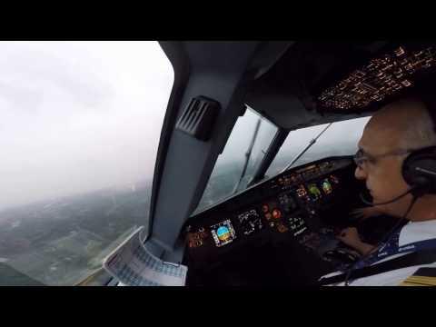 Landing in Chengdu