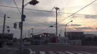 [drive japan]静岡県富士市田子の浦港の風景(県道341号線) Part.1