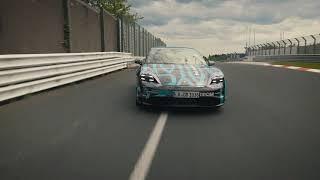 Porsche Taycan na Nurburgringu